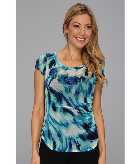 Bluze Karen Kane - Tidal Wave Side Shirred Top - Print