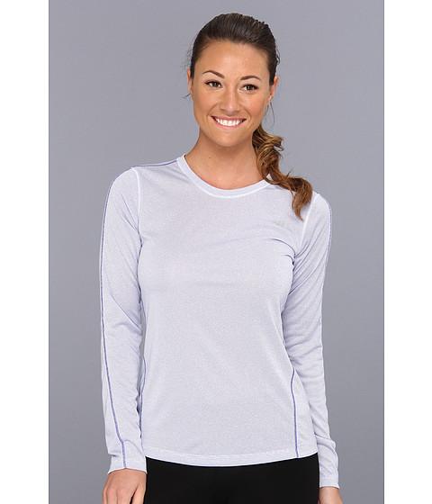 Bluze New Balance - Heather Long Sleeve Top - Azurite