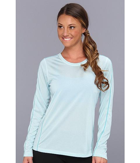 Bluze New Balance - Heather Long Sleeve Top - Capri Breeze