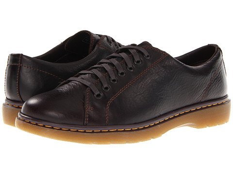 Pantofi Dr. Martens - Darius Lace To Toe Shoe - Dark Brown