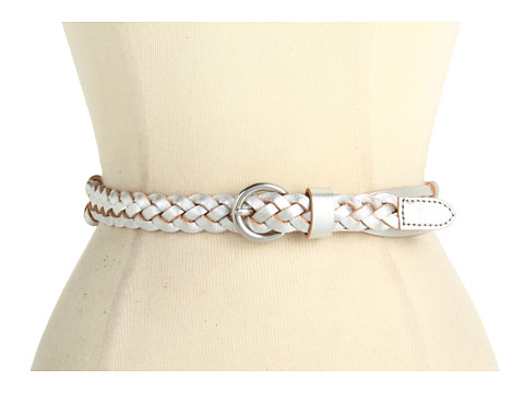 Curele Fossil - Knotted Woven Silver - Silver