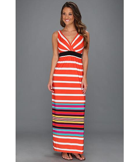 Rochii rsvp - Sanoma Dress - Coral/Multi