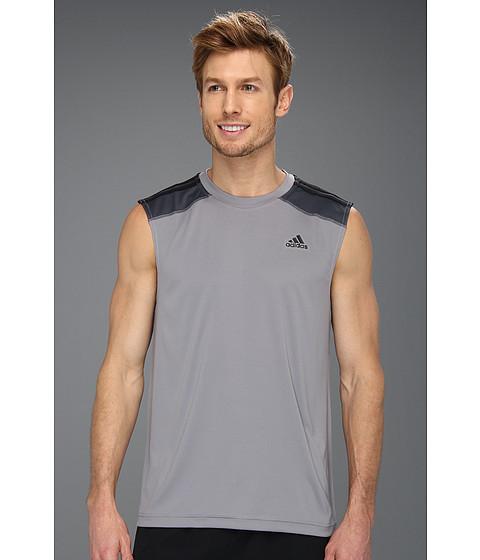 Tricouri adidas - ClimaMax 2 Sleeveless Training Tee - Tech Grey/Black