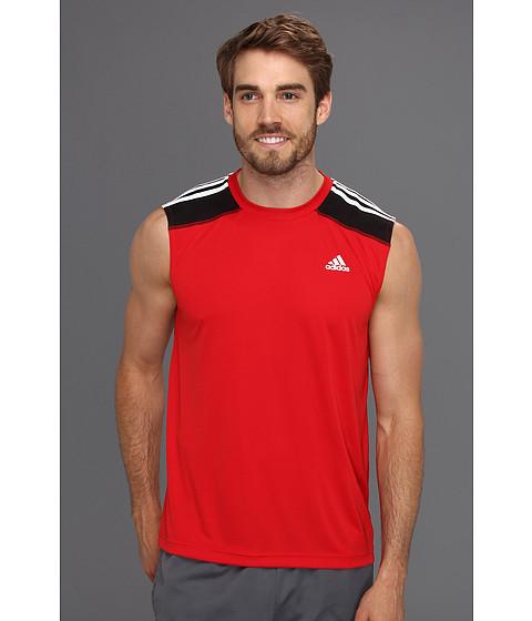 Tricouri adidas - ClimaMax 2 Sleeveless Training Tee - Light Scarlet/White