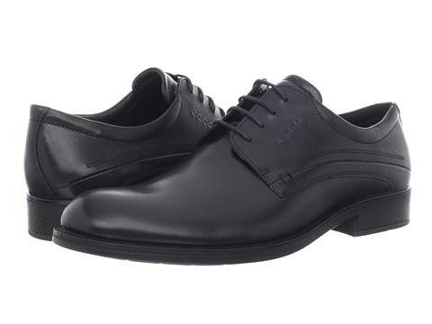 Pantofi ECCO - Birmingham Lace-Up - Black Oxford Leather