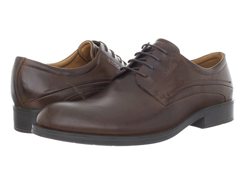 Pantofi ECCO - Birmingham Lace-Up - Cocoa Brown Aztec