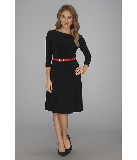 Rochii Anne Klein New York - Jersey Swing Dress - Black