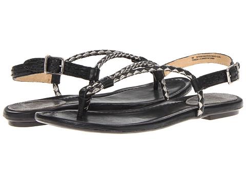 Sandale Frye - Madison Braid Sling - Black Multi Metallic Leather