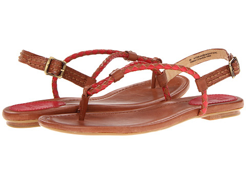 Sandale Frye - Madison Braid Sling - Burnt Red Veg Tan
