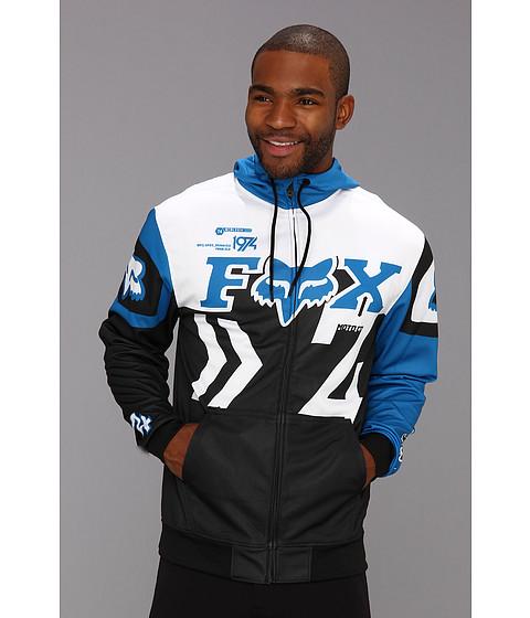Bluze Fox - Anthem Zip Fleece - Black