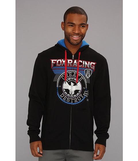 Bluze Fox - Infinite Speed Zip Front Fleece - Black