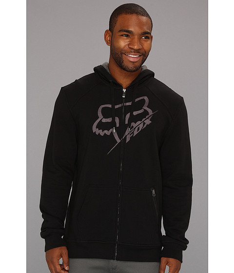 Bluze Fox - Edger Zip Front Fleece - Black