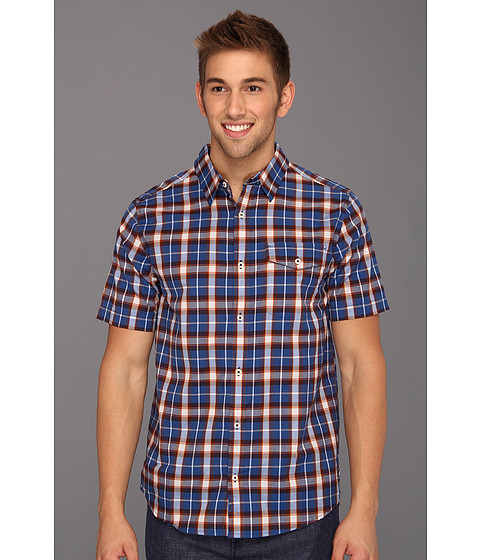 Tricouri DC - Jocko S/S Shirt - Royal Blue Plaid