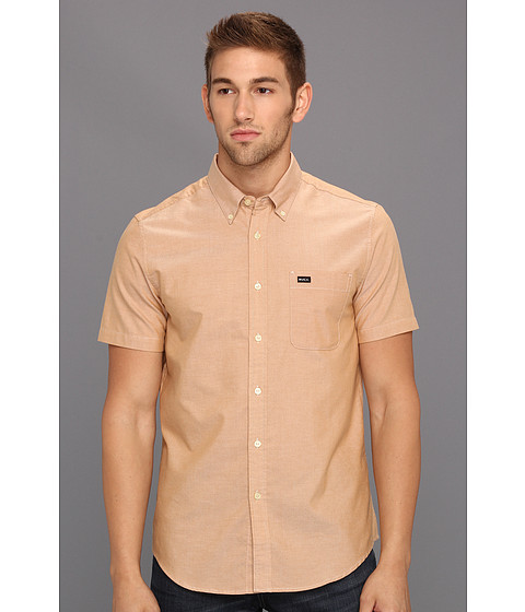 Tricouri RVCA - That\ll Do Oxford S/S - Cathay Spice