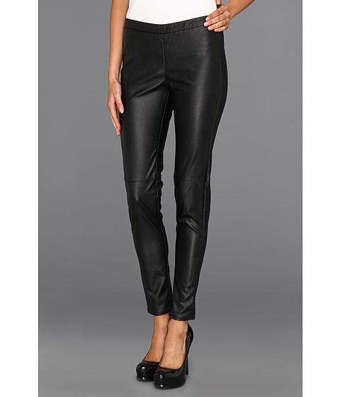 Pantaloni MICHAEL Michael Kors - Faux Leather Legging - Black