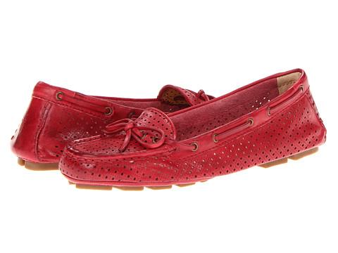 Balerini Frye - Reagan Perf Driver - Red Vintage Veg Tan