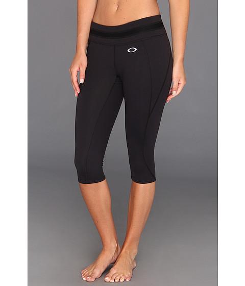 Pantaloni Oakley - Night Run Capri - Jet Black
