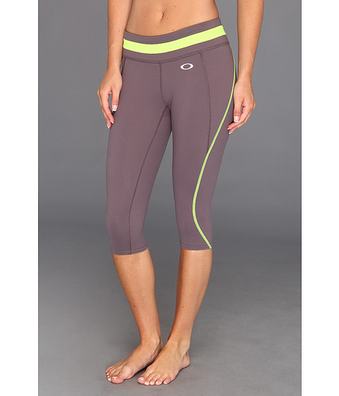 Pantaloni Oakley - Night Run Capri - Slate Purple