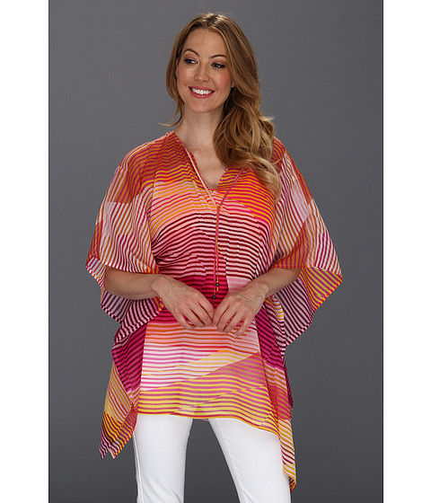 Bluze Tommy Bahama - Samba Stripe Tunic - Rose Bed