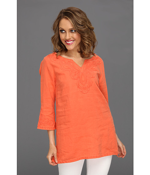 Rochii Tommy Bahama - Two Palms Fan Tunic - Burnt Coral