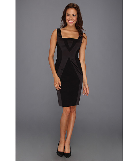 Rochii Vince Camuto - Bodycon Dress w/ Vertical Seaming Detail - Black