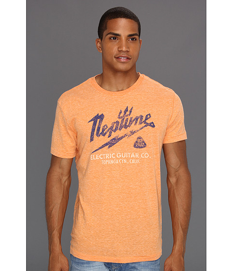 Tricouri Lucky Brand - Neptune Electric Tee - Orange Triblend
