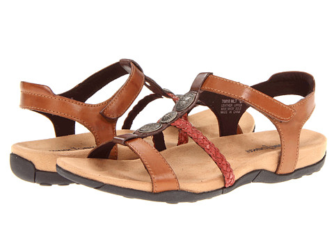 Sandale Minnetonka - Lakeshore - Brown/Red/Tan