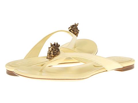 Sandale Alexander McQueen - Infra Pelle - Daim Velour - Pale Yellow
