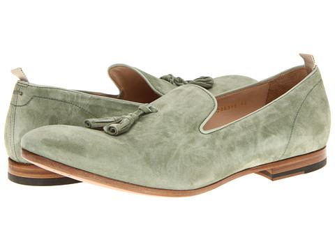 Pantofi Alexander McQueen - Suede Tassel Loafer - Pale Green