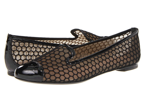 Balerini Alexander McQueen - Scarpa Plast - Hexagon Mesh - Black/Rope/Black