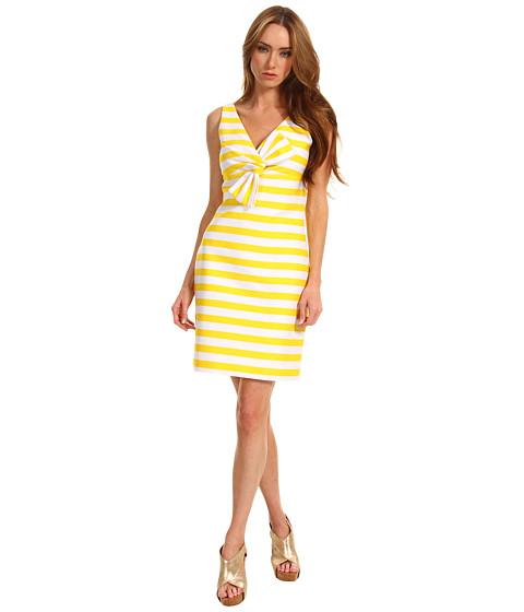 Rochii Kate Spade New York - Striped Silverscreen Dress - Donovan Yellow Petula Stripe
