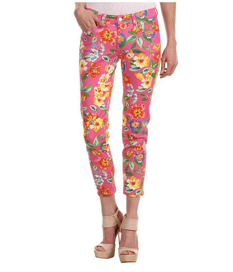 Pantaloni Kate Spade New York - Broome Street Capri - Bazooka Pink Dark Petal Floral