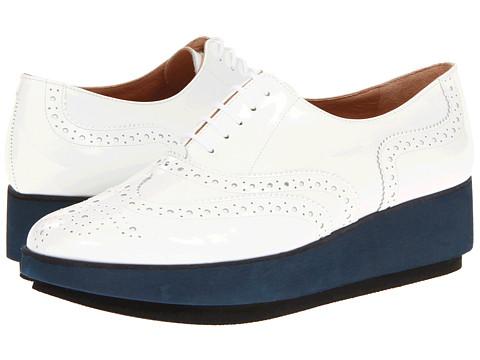Pantofi Robert Clergerie - Demilee - White Patent