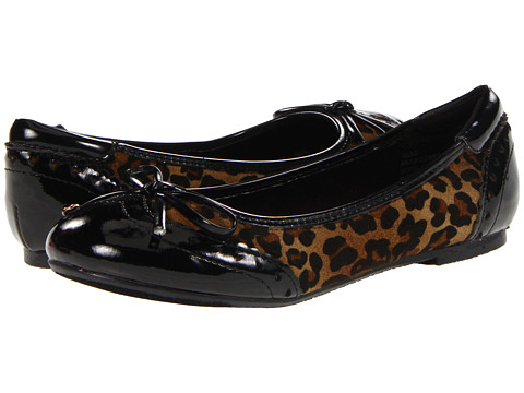 Balerini UNIONBAY - Wild-G Ballet Flat (LIttle Kid/Big Kid) - Black/Cheetah