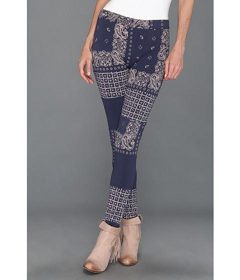 Pantaloni Free People - Bandana Printed Legging - Blue Combo