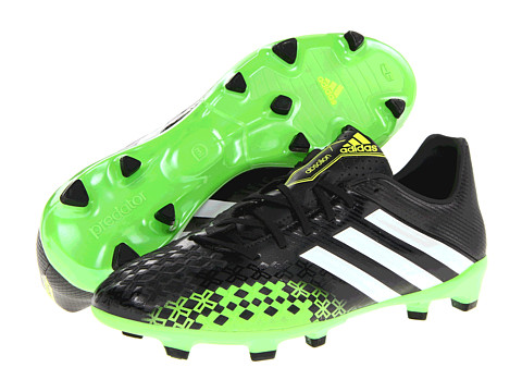 Adidasi adidas - Predator Absolion LZ TRX FG - Black/Running White/Ray Green