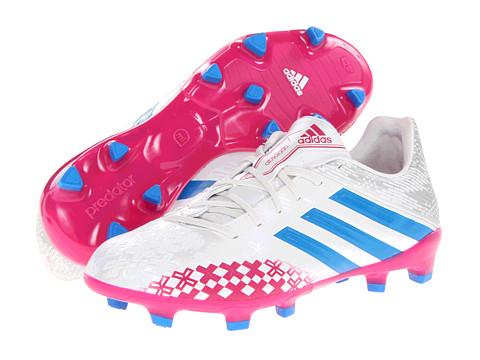 Adidasi adidas - Predator Absolado TRX FG W - Running White/Pride Blue/Blast Pink