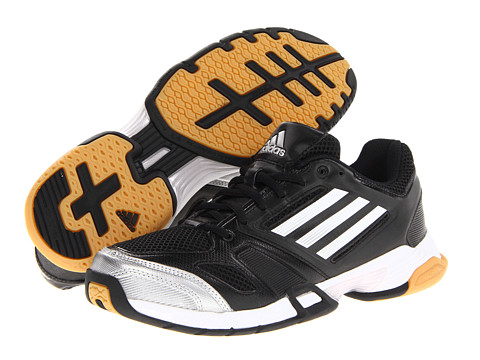 Adidasi adidas - Volley Team W - Black/White/Metallic Silver/Gum