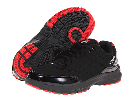 Adidasi Fila - Postup Low Memory - Black/Fila Red/Metallic Silver