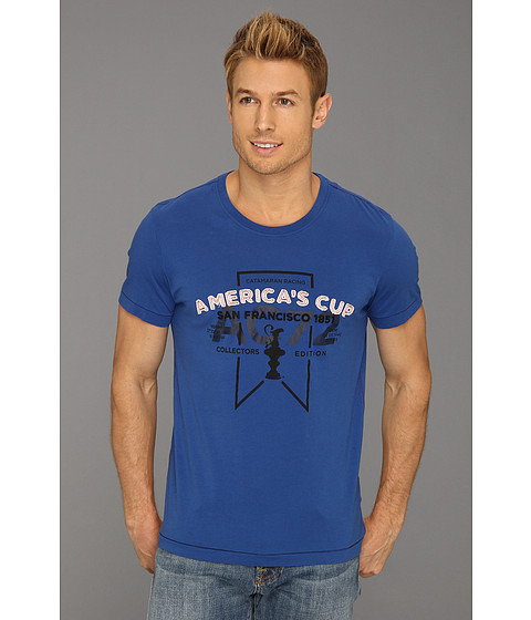 Tricouri PUMA - AC Clews Tee - True Blue