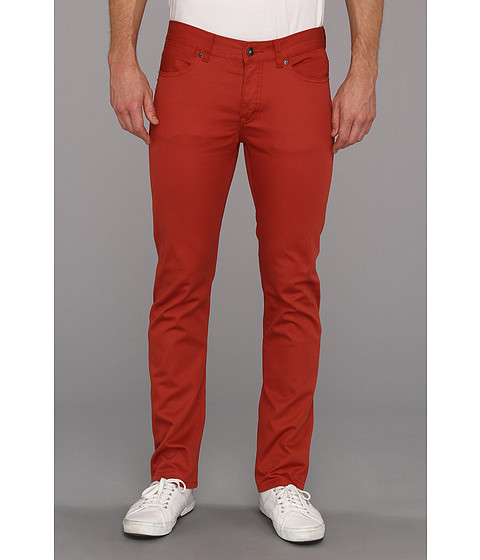Blugi KR3W - K Slim 5-Pocket Jean in Burnt Orange - Burnt Orange