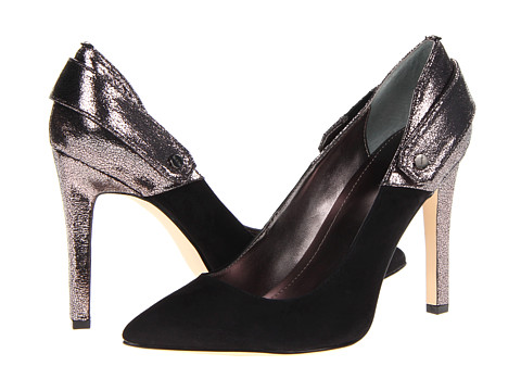 Pantofi Calvin Klein - Brystal - Black/Gunmetal