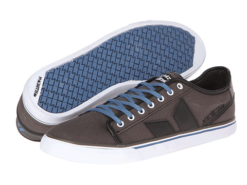Adidasi Macbeth - James - Dark Grey/Muted Cobalt/Canvas/Synthetic Leather