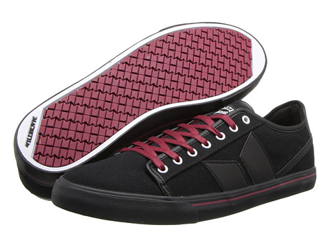 Adidasi Macbeth - James - Black/Ox Blood/Canvas/Synthetic Leather