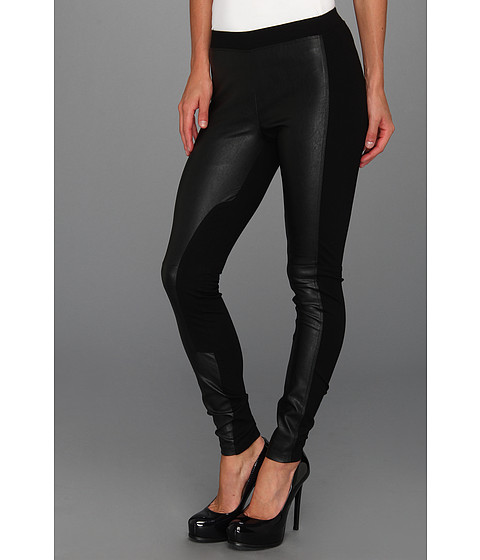 Pantaloni Sanctuary - Mixed Vegan Legging - Black
