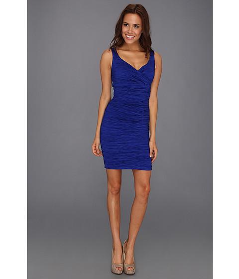 Rochii Calvin Klein - Surplus Crinkle Textured Dress - Lapis