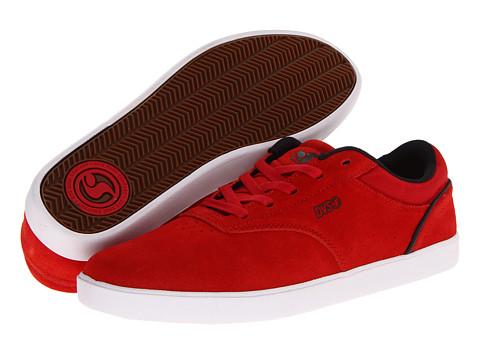 Adidasi DVS Shoe Company - Lucid - Red Suede FA 13