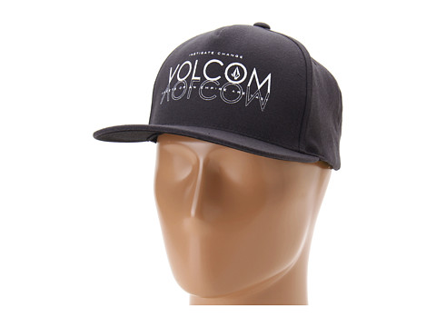 Sepci Volcom - Eddie Snapback Hat - Black Tinted