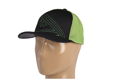 Sepci Quiksilver - Trapped - Lime Green