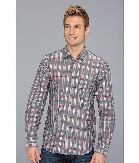 Camasi Ben Sherman - Plectrum Classic Point Collar Chambray L/S Shirt - Asphalt